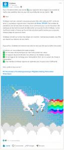 Community management - exemple de posts entreprise startup - Koïné