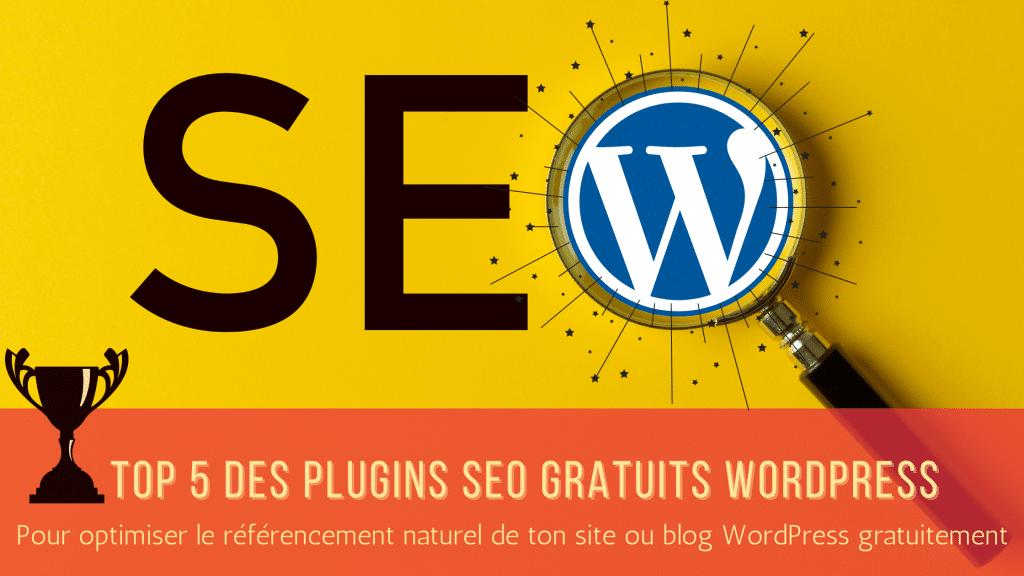 Top 5 des plugins gratuits pour optimiser le référencement naturel SEO de votre site ou blog WordPress - Agence Koïné Rédaction conseils webmarketing