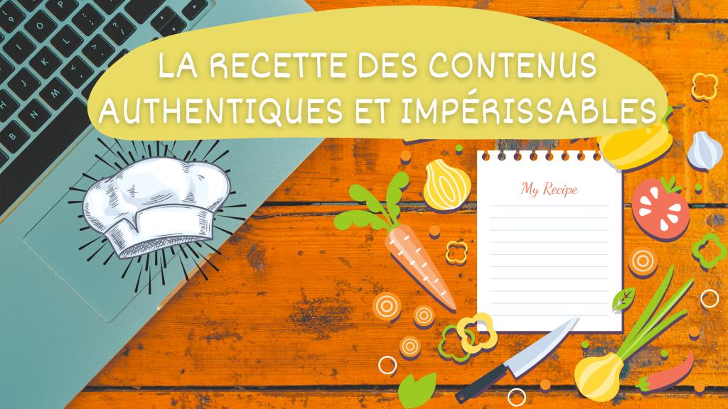 Article donnant la recette pour écrire des contenus authentiques, impérissables et engageants, nos tous nos conseils en content marketing par l'agence de rédaction à Paris Koïné Rédaction sont dans ce guide marketing