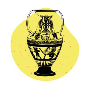 Les secteurs privilégiés de l'agence éditoriale Koïné Rédaction vase ancien
