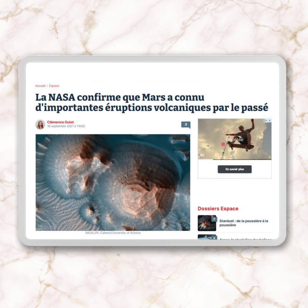 Portfolio exemple de rédaction web article de vulgarisation presse journalisme agence Koïné Rédaction Paris